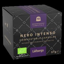 Löfbergs Lila Nero Intenso Nespresso coffee capsules 10pcs