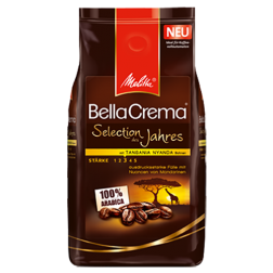 Melitta BellaCrema Selection of the year coffee beans 1000g