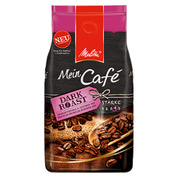 Melitta Mein Café Dark roasted coffee beans 1000g