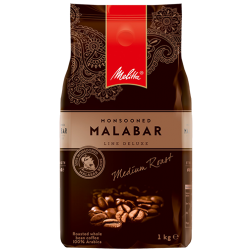 Melitta Monsooned Malabar Line Deluxe coffee beans 1000g