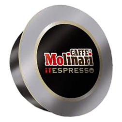 Molinari Blue 100% arabica coffee capsules 100pcs