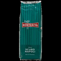 Monteriva Scuro Napoli coffee beans 500g