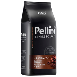 Pellini No9 Cremoso coffee beans 1000g
