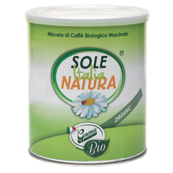Sole Italia Natura ecological ground coffee 250g