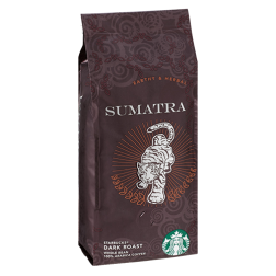 Starbucks Coffee Sumatra coffee beans 250g