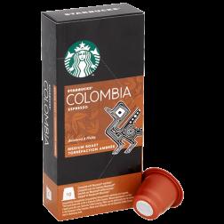 Starbucks Colombia Espresso coffee capsules for Nespresso 10pcs