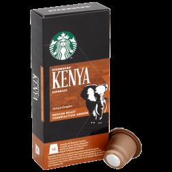 Starbucks Kenya Espresso coffee capsules for Nespresso 10pcs