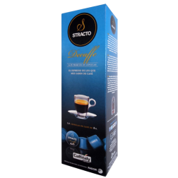 Stracto Decaffe Caffitaly coffee capsules 10pcs