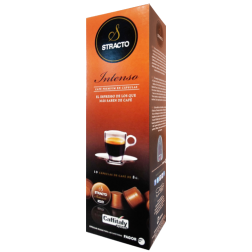 Stracto Intenso Caffitaly coffee capsules 10pcs expired date