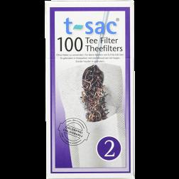 t-sac tea filter no:2 100pcs