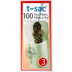 t-sac tea filter no:3 100pcs