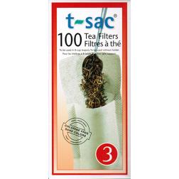 t-sac tea filter no:3 100pcs