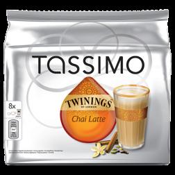 Twinings Chai Latte Tassimo tea capsules 8pcs