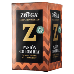 Zoégas Pasion Colombia ground coffee 450g